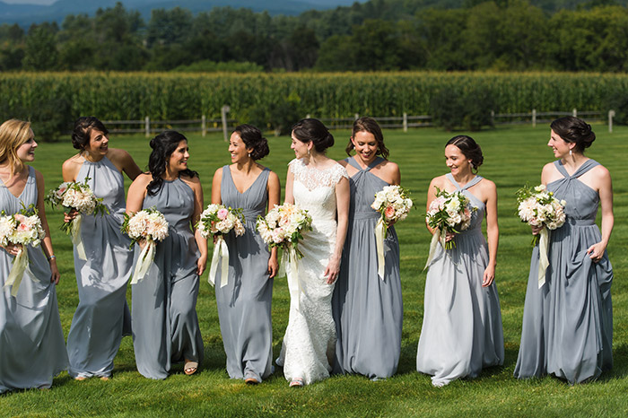 Vermont Wedding Bridesmaids