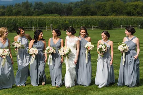 Vermont Wedding Bridesmaids